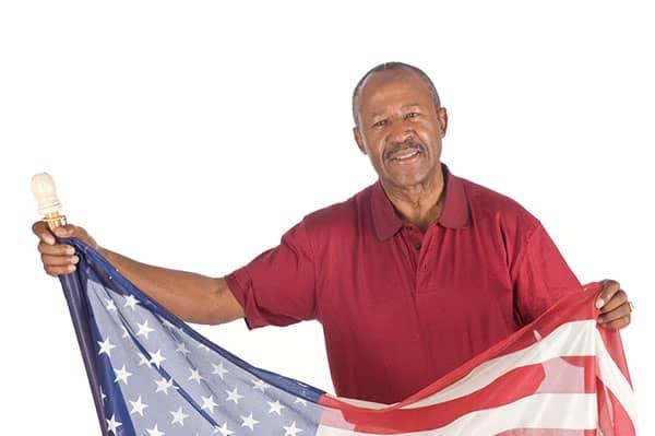 veteran american flag medicare